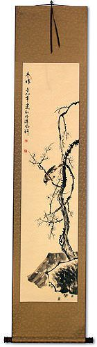 Clear Winter<br>Plum Blossom<br>Asian Wall Scroll