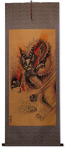Dragon Wall Scroll