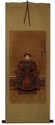 Empress Ancestor - Partial-Print Wall Scroll