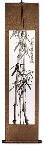 Fresh Bamboo Wall Scroll