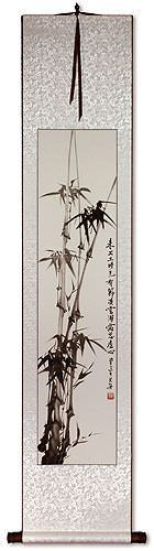 Chinese Bamboo Wall Scroll