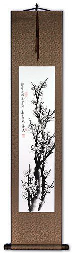 Blooming Plum Blossom<br>Fragrant Breeze<br>Wall Scroll