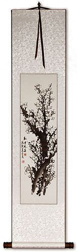 Plum Blossom Wall Scroll