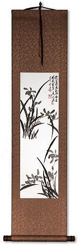 Orchid Wall Scroll