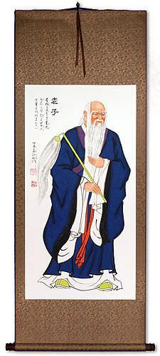 Lao Tzu / Laozi Wall Scroll