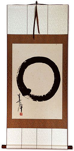 Large Enso Japanese Symbol<br>Large Wall Scroll