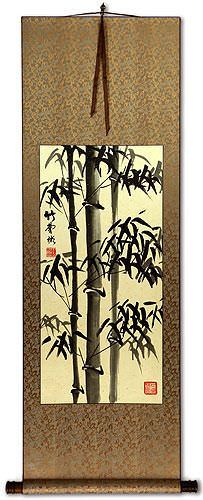 Unique Black Belt Chinese & Japanese Kanji Custom Wall Scrolls