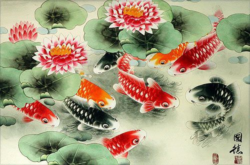 Koi Fish Painting