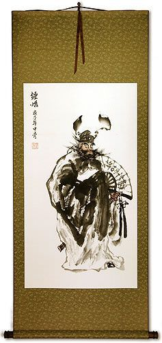 Zhong Kui Ghost Warrior<br>Wall Scroll