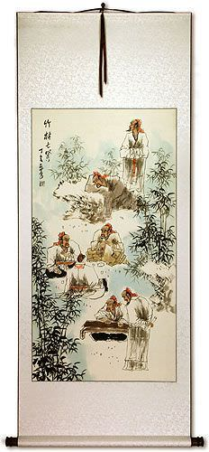 Bamboo Grove<br>Wall Scroll