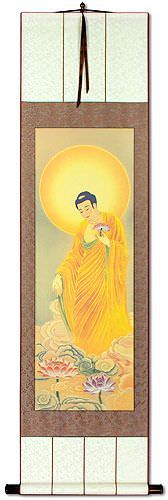 The Buddha Shakyamuni<br>Giclee Print<br>Wall Scroll