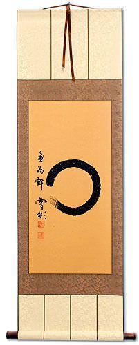 Enso Zen Circle - Wall Scroll