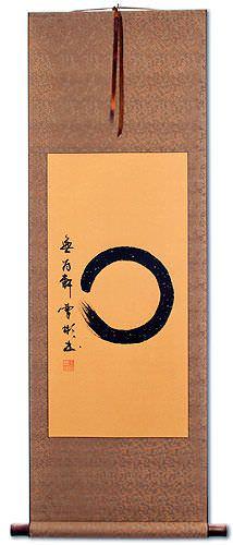Enso Japanese Symbol Wall Scroll