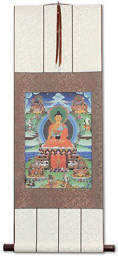 Buddha Altar Print<br>Wall Scroll