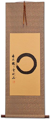 Enso Japanese Symbol Hanging Scroll
