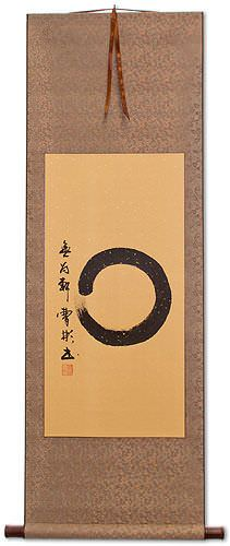 Enso Japanese Symbol Wall Scroll