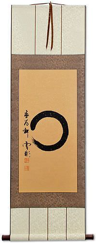 Enso Japanese Symbol Silk Wall Scroll