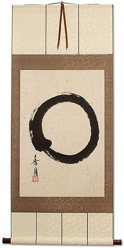 Large Enso Japanese Symbol - Wall Scroll