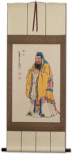 Confucius Wall Scroll