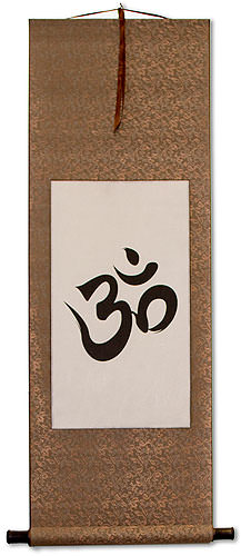 Om Symbol<br>Buddhist / Hindu Wall Scroll