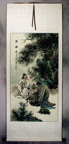 Musical Rhyme - Ancient Chinese Style Wall Scroll