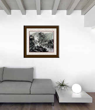 Landscape Chinese Painting living room view