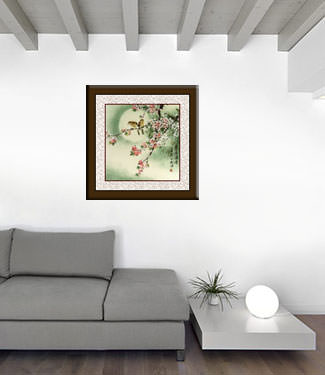 Flower Painting living room view