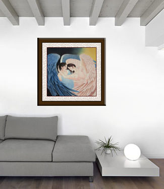 Angels Embrace - Special Painting living room view